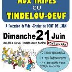 Petit Déjeuner aux tripes et Tindelou/oeuf (c) ALSH des Galopins