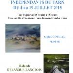 12ème Salon des Artistes Indépendants du Tarn (c) Atelier Bleu Cobalt