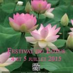 Festival du Lotus (c) Jardins des Martels