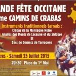 Festival occitan Camins de crabas (c) IEO Tarn/Centre Occitan del País Castrés
