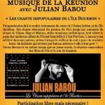 Soirée Musique de la Réunion avec Julian Babo (c) L'Atelier d'Alban
