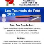Tournoi de tennis de table (c) Ping Saint Paulais