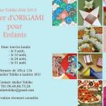 Atelier Origami pour enfants (c) Atelier Tokiko