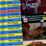 Concerts d'été à Cordes sur Ciel - Duo Deluxe (c) Commercants et Restaurateurs de Cordes