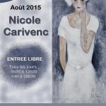 Exposition de Nicole Carivenc (c) Office de Tourisme