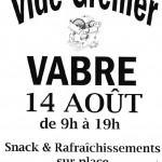Vide-grenier à Vabre (c) Société des Amis du Pays Vabrais