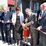 Inauguration de la salle multisports intercommunale à Lisle sur Tarn / © TED