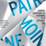 Journées Européennes du Patrimoine-2015 / © DES SIGNES studio Muchir Desclouds