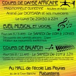 Cours de Danse Africaine Ado / Adultes (c) ASSOCIATION SANKARAN
