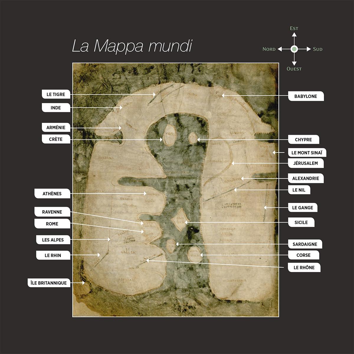 Mappa mundi d'Albi / © Ville d'Albi