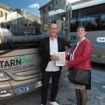 Remise 1er prix Concours TARNBus semaine de la mobilité / © Crédit TARNBus