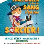 A Halloween, le don de sang c'est pas sorcier (c) Etablissement Français du Sang Pyrénées-Médit