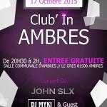 Club'In Ambres (c) Talza Events