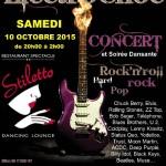Electrochoc en Concert - soirée dansante Rock (c) Stiletto