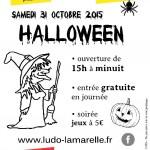 Journée Halloween à la ludothèque (c) Association La Marelle