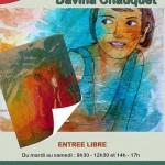 Exposition artiste Davina Chauquet (c) Office de Tourisme du Lautrécois-Pays d'Agout