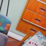 Maison des éco-gestes, la chambre / © Trifyl