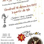 Cabaret de la Calabrune avec la Cabriole! (c) Brasserie des Vignes / Cirque La Cabriole