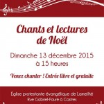 Chants et lectures de Noël (c) Association Diakoneo