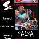 Concert dansant Salsa avec LA SELECTA (c) Stiletto