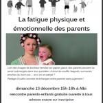 Discussion autour de la fatigue physique et é (c) Association Libres Enfants du Tarn