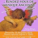 Les RV de musique ancienne d'Albi (c) Association SOS musique