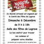 Marche de Noël Artisanal (c) Comité des fêtes de Lagrave