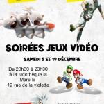 Soirée Jeux Vidéo (c) Ludothèque associative La Marelle
