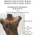 Stage raku raku nu (c) laure giraudeau / Atelier Faire&Maginer