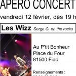 Apéro concert avec Les Wizz (c) Au P'tit Bonheur