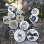 Atelier de fabrication de tambour chamanique (c) Terre de Chamans