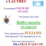 Concert pour Juliano (c) Cœur de Nuage