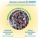 Conférence APAJH du Docteur Laurent El Ghozi (c) APAJH dans le Tarn