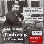 Exposition Pichons mestièrs d'un còp èra (c) Association Patrimoine Giroussens