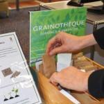La grainothèque fleurit à la médiathèque! (c) médiathèque de Parisot