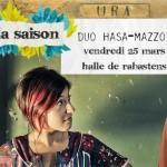La Saison : Duo hasa-mazzotta (violoncelle et (c) Toulouse En Scène