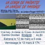 Linda & Roger Harvey Exposition 2016 (c) Centre Culturel Occitan de l'Albigeois