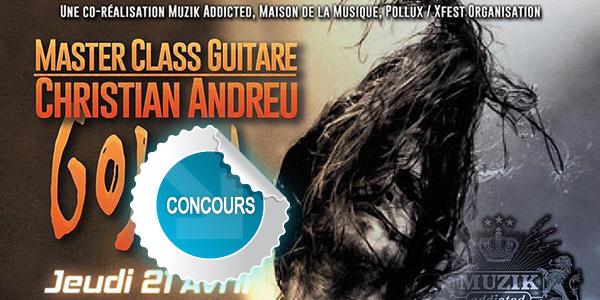 Concours DTT Master Class avec Christian Andreu