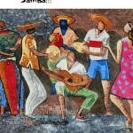 Concert au Chinabulle! Ta Bom Demais - Samba (c) Association Au Comptoir du Chinabulle