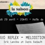 La Saison : Duo Réflex – Mélodition (c) Toulouse En Scène