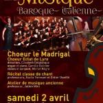 Musique baroque italienne (c) Conservatoire de Musique et de Danse du Tarn