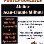 Portes ouvertes atelier maroquinerie (c) Jean-Claude MILHAU