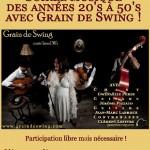 Soirée musique des années 20's à 50's avec Gr (c) L'Atelier d'Alban