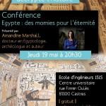 Conférence Egypte, des momies pour l'éternité (c) Association Délires d'encre