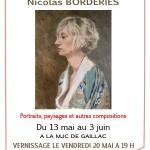 Exposition de Nicolas Borderies (c) MJC Gaillac