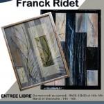 Exposition de peinture de Franck Ridet (c) Office de Tourisme du Lautrécois-Pays d'Agout
