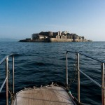 Japon TEXT ÎLE(S) : Gunkanjima, l'île fantôme (c) Conservation départementale des musées du Tar