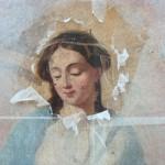 Pause café : Restauration d'un tableau (c) Service Patrimoine