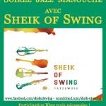 Soirée Jazz Manouche avec Sheik of Swing (c) L'Atelier d'Alban