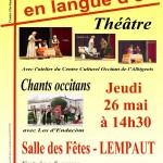 Théâtre occitan (c) Centre Occitan del País Castrés